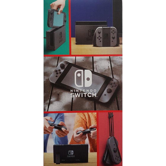 Nintendo Switch Konsole 32 GB Speicher mit Joy-Con 2019 Edition, grau