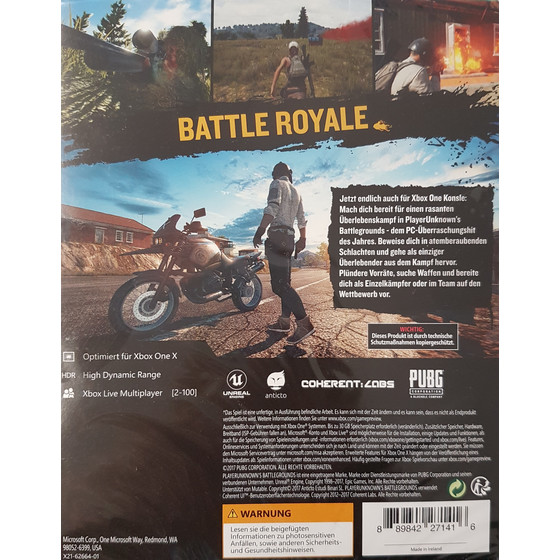 PLAYERUNKNOWN?S BATTLEGROUNDS Game Preview Edition [Xbox One]