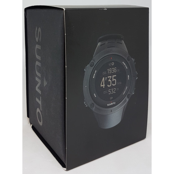 Suunto Ambit3 Peak Black HR Multifunktionsuhr, schwarz