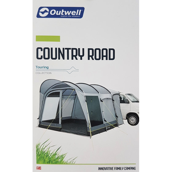 Outwell Country Road Medium Busvorzelt mit Gestänge, 340x240x225cm
