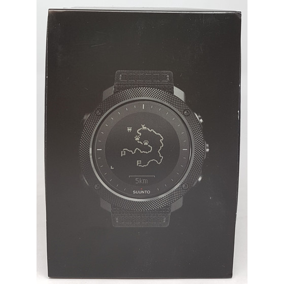 Suunto Traverse Alpha Stealth GPS Outdoor Uhr