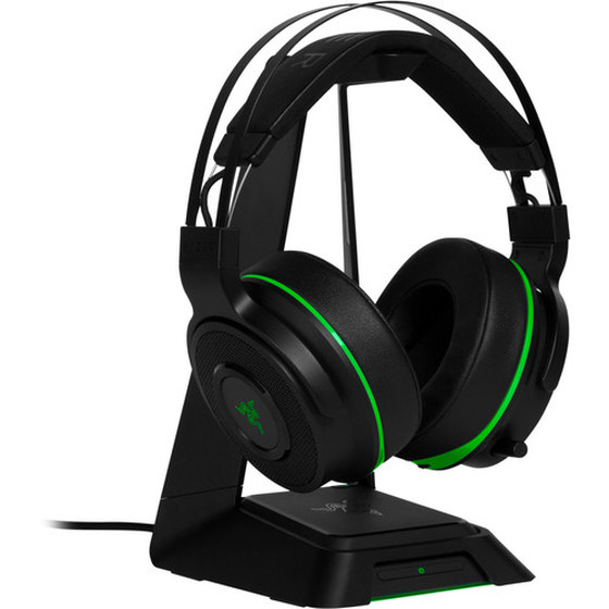 Razer Thresher Ultimate Xbox One/Win 10 Kabelloses 7.1 Surround Sound Gaming Headset, ausziehbares Mikrofon, Schwarz