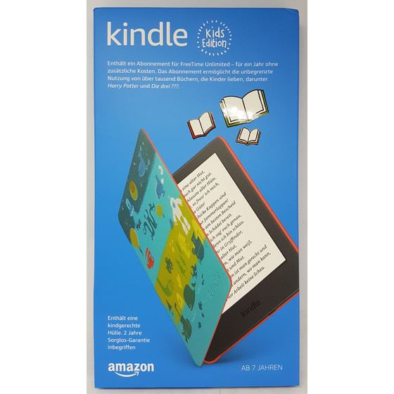 Amazon Kindle Kids Edition 15,24 cm (6 Zoll) 8 GB, Weltall Hülle