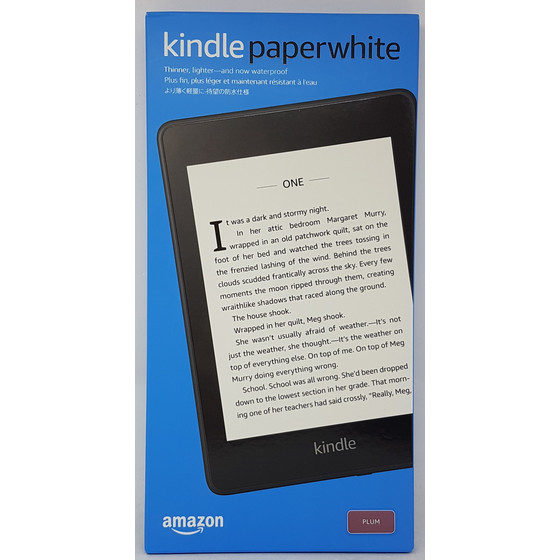 Amazon Kindle Paperwhite 2018 8GB mit Spezialangeboten, lila