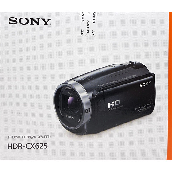 Sony HDR-CX625 Full HD Camcorder, 30-fach optischer Zoom, NFC